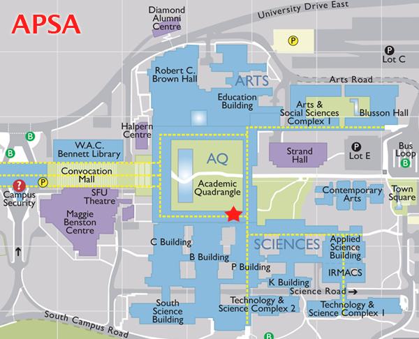 sfu vancouver campus map History Sfu Apsa sfu vancouver campus map